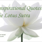 10 Inspirational Quotes in the Lotus Sutra (Part 1)