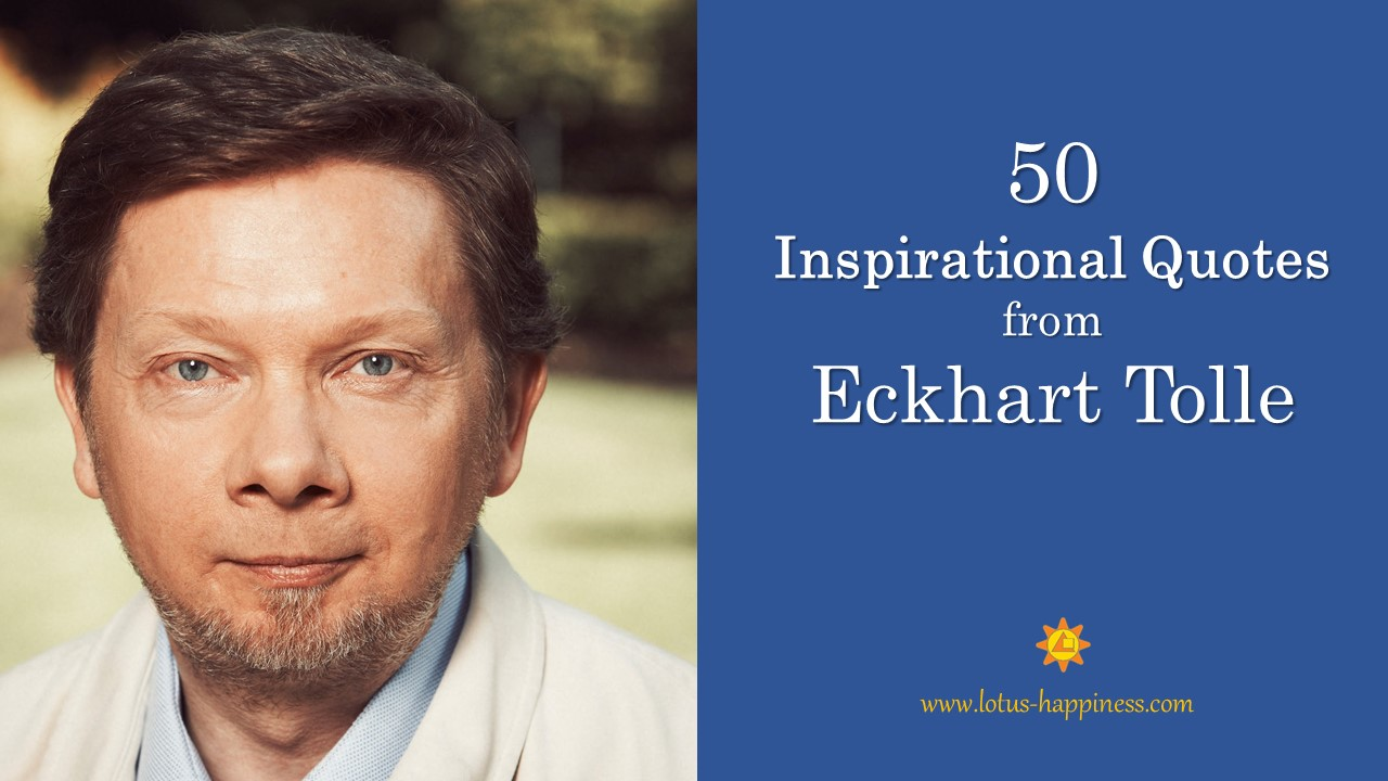 Quotes from Eckhart Tolle