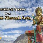10 Inspirational Quotes from Cakkavatti-Sihanada Sutta