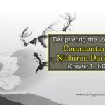 Deciphering the Lotus Sutra: Commentary by Nichiren Daishonin (Chapter 1 – ND 1.1)