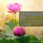 Deciphering the Lotus Sutra: Commentary by Nichiren Daishonin (Chapter 3)