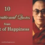10 Inspirational Quotes from The Art of Happiness